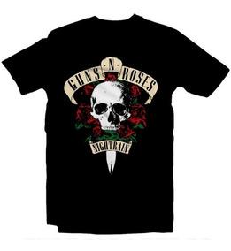 Playeras Guns N Roses Guns And Roses 15 Modelos Envio Expres