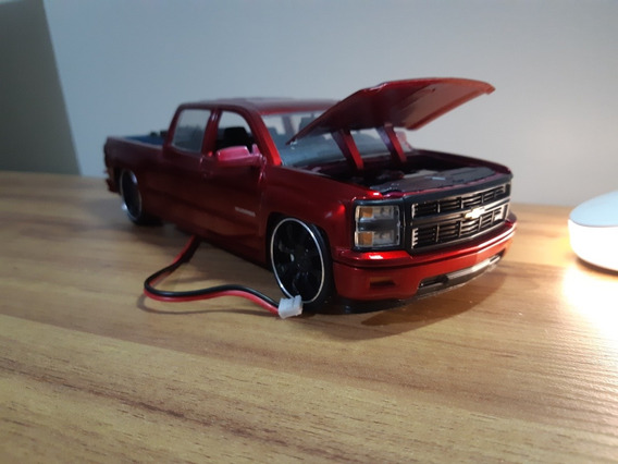 Silverado Com Som 1/24 Bluetooth P2 + Brinde Video