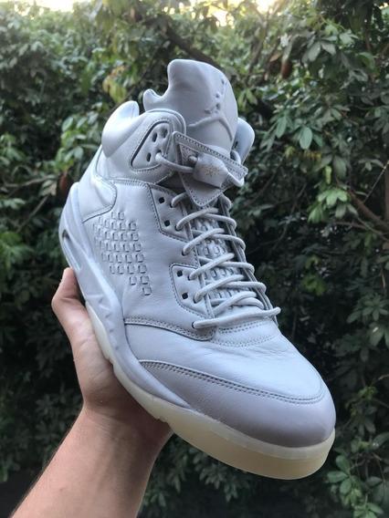 Tenis Nike Air Jordan 5 Retro Premium Platinum Tamanho 44