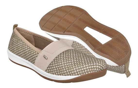 Zapatos Casuales Para Dama Flexi 28305 Beige