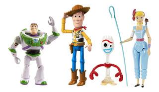 Toy Story 4 Pixar 5 Woody Buzz Bo Peep Forky Giggle Orginal