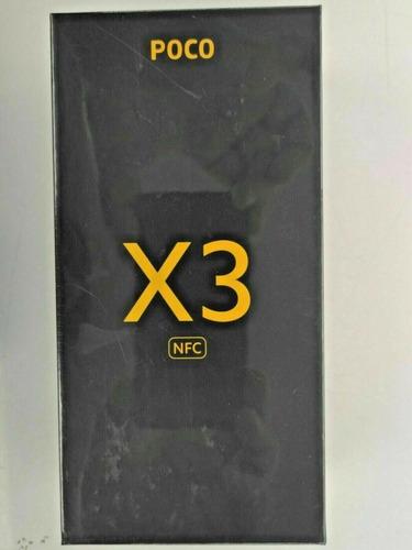 Xiaomi Poco X3 Nfc 128gb 6gb Ram Azul Gris Desbloqueado De F