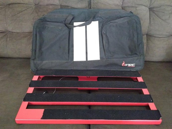 Pedalboard Fire Custom Pedal Guitarra Frame Bag Original