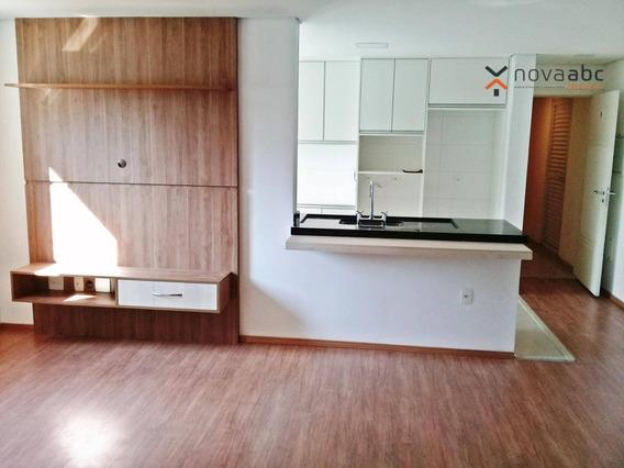 Cobertura Com 3 Dormitórios Para Alugar, 85 M² Por R$ 4.500/mês - Jardim - Santo André/sp - Co0421