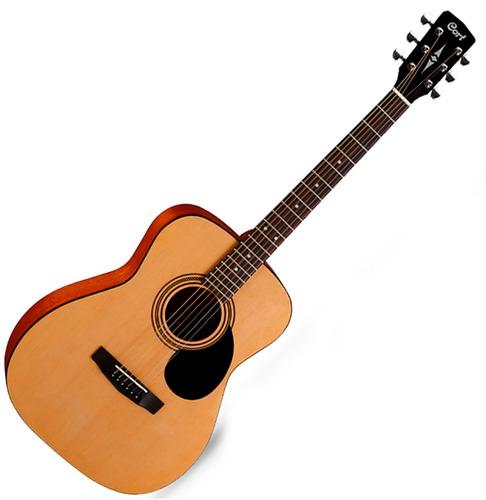 Guitarra Acústica Cort Af510 Op Natural C/funda - Oddity
