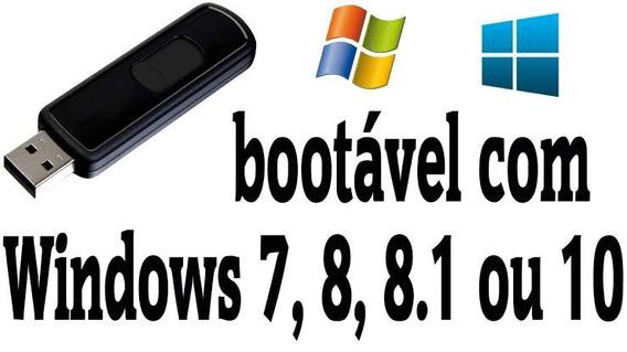 Pendrive Do Windows 7/8 E 10