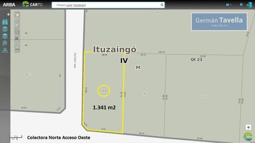 Imagen 1 de 9 de Fracción En Venta. 1341 M2 Sobre Acceso Oeste, Parque Leloir