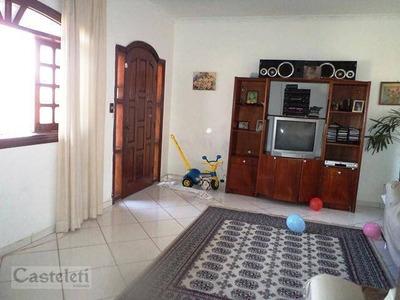 Casa Residencial À Venda, Jardim Carlos Lourenço, Campinas. - Ca1596