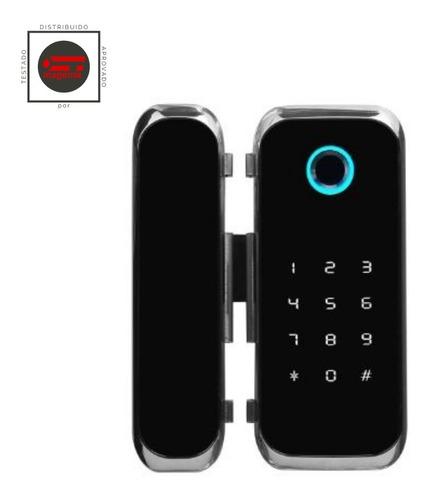 Fechadura Eletrônica Vidro Wifi Alexa (1 Ou 2 Folhas)