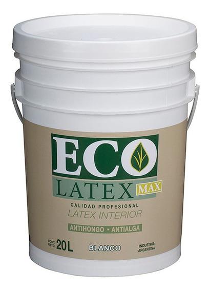 Ecolatex Pintura Latex Acrilico Interiores 20 Lts - Tersuave