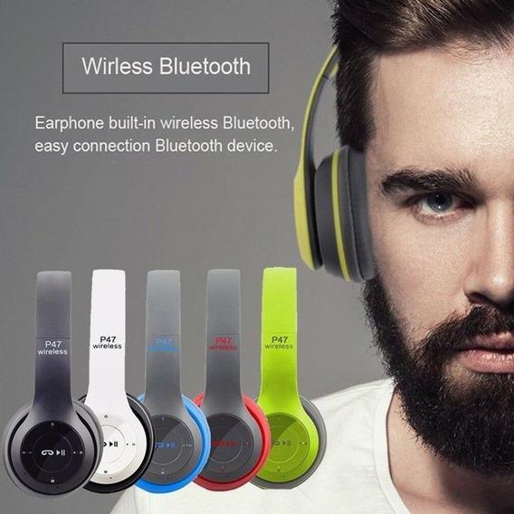 Audifono Inalambrico P47 Bluetooth 4.1 Nuevo / (15v)