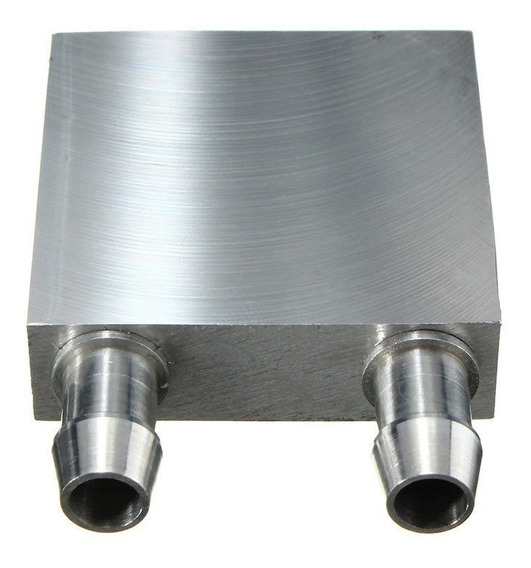 Dissipador Calor Alumínio 40x40x12mm Água Cpu Peltier