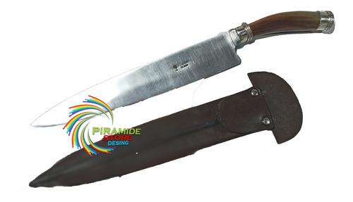 Cuchillo Lapacho Hoja 26 Cm Acero Boro Hermoso Envio Gratis