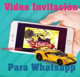 Tarjetas De Invitacion Hot Wheels En Mercado Libre Venezuela