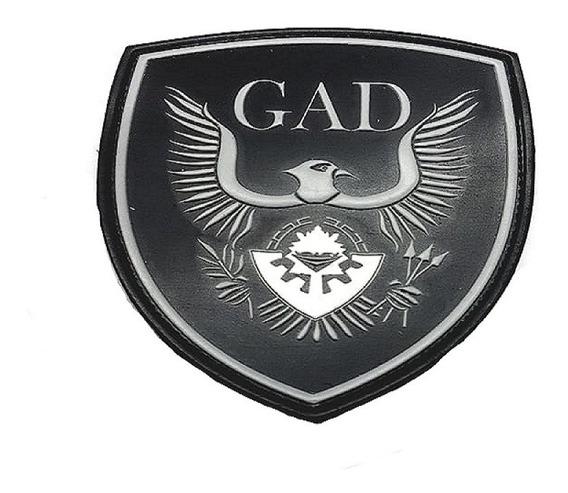 Policia De Provincia-emblema Gad De Pvc