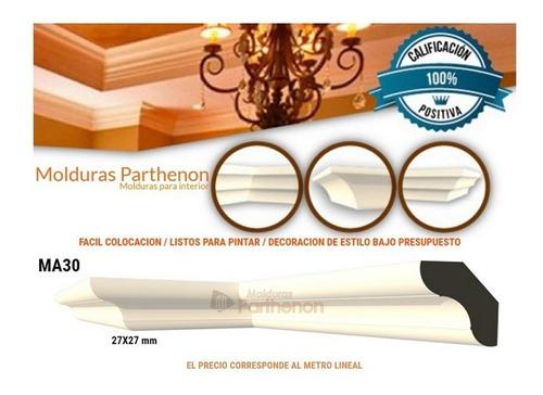 Parthenon Molduras Para Interior Ma30 Excelente Terminación