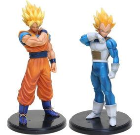 Goku E Vegeta Dragon Ball Z Action Figure 2pçs