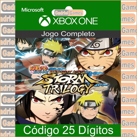 Naruto Storm Trilogy Xbox One Código 25 Dígitos Oficial 12x