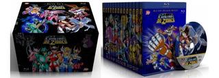 Box Blu-ray Os Cavaleiros Do Zodíaco - Caixa Completa