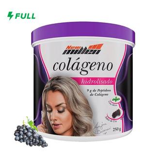 Colágeno Hidrolisado Em Po - 250g - New M. Parcele S/ Juros