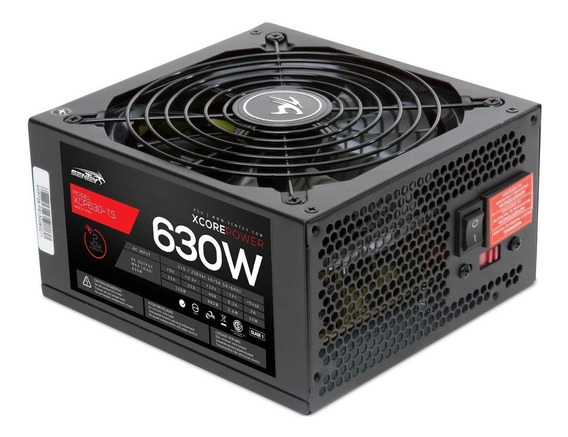 Fuente PC ATX Sentey XCP630-TS XCP 110V/220V negra
