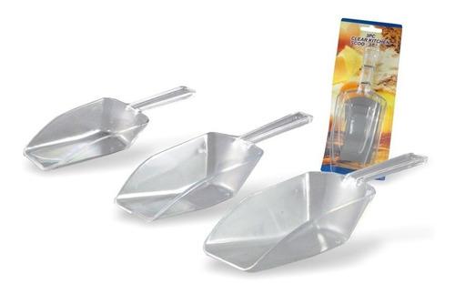 Cucharas De Acrilico X10 Set (30 Cucharas) 3 Tamaños -tv