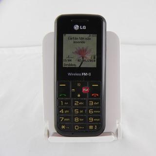 Lg Gs107 Preto/vermelho C/ Rádio Fm Bateria Boa - Usado