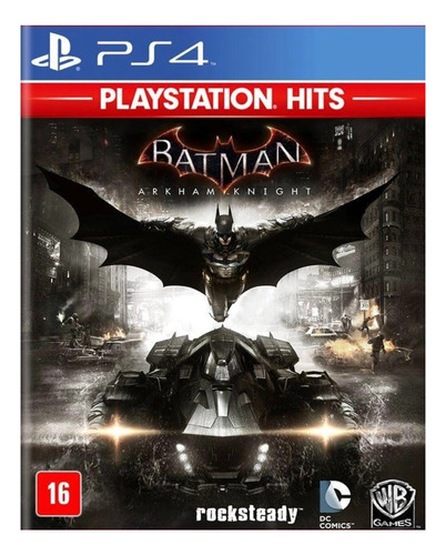 Imagen 1 de 4 de Batman: Arkham Knight Standard Edition Warner Bros. PS4 Digital