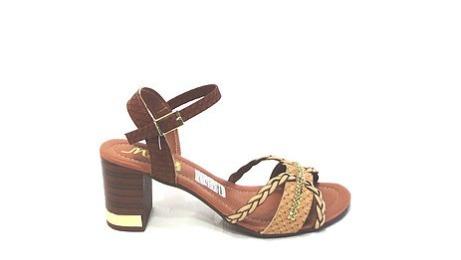 Sandália Mouser Caramelo/palha R5320
