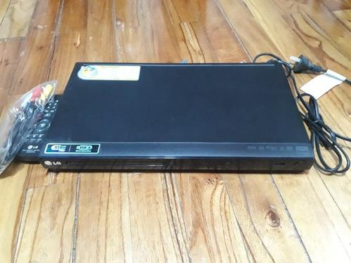 Reproductor De Dvd LG Dv552. Control Remoto Y Usb Sin Uso!