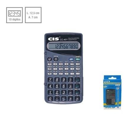 Calculadora Cientifica Cis Cc-401 Sertic