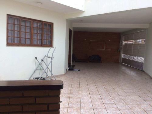 Imagem 1 de 20 de Sobrado Na Mooca Com 3 Dorms Sendo 1 Suíte, 4 Vagas, 180m² - So0167