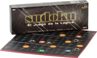 Sudoku Juego Logica Bisonte Mesa Matématica Números Ingenio