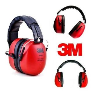 Protetor Abafador Ruído Auditivo Auricular Muffler 3m