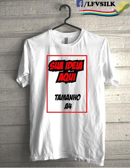 Camiseta Personalizadas Peça Já A Sua