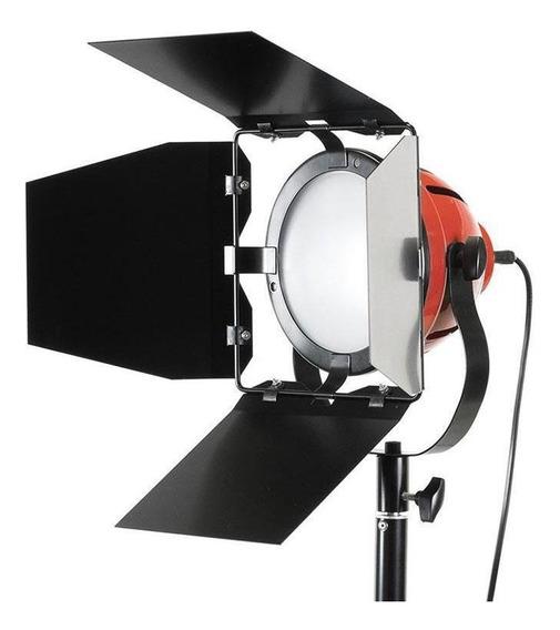 Iluminador Led Tocha 55w Vermelho 5500k - Shl116