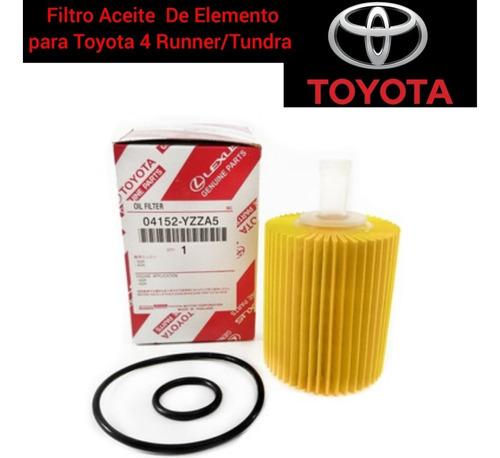 Filtro De Aceite Elemento Toyota 4runner Thundra 2010 2019