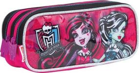Estojo Duplo Monster High 17z