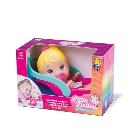 Boneca Little Dolls Collection Bebê Conforto