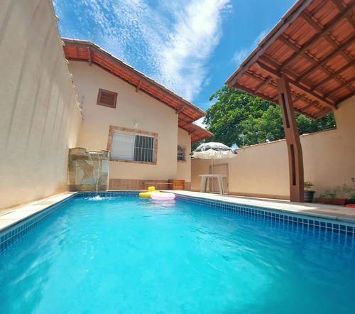 Imagem 1 de 13 de Casa Para Venda Em Itanhaém, Jardim Suarão, 2 Dormitórios, 1 Suíte, 1 Banheiro, 3 Vagas - 1001_1-1916567