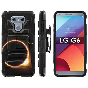 989e8f0b52b Lg G6 Teléfono Cubierta Mobiflare Negro / Negro Dual Hybrid
