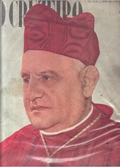 O Cruzeiro 1958.papa.são Paulo Pegou Fogo.soraia.moda.china