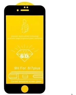 5d 6d Curvada Pelicula Vidro iPhone Xs Max Xr X 8 Plus 7 6