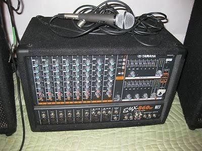 Cabeçote Yamaha Mesa Amplificada Emx860st