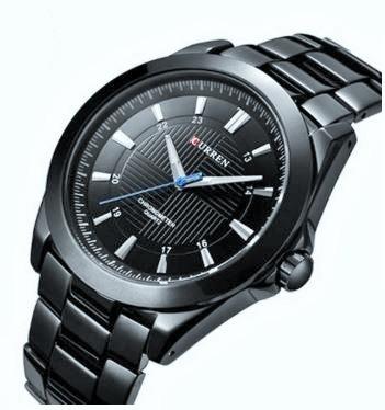Relógio Masculino Curren 8109 Analógico Original