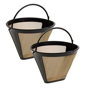 Filtros Reutilizables,dorado Cuisinart Filtro Permanente..