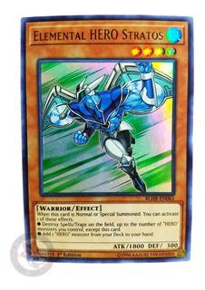 Yugi-oh! Elemental Hero Stratos Blhr-en061 Ultra