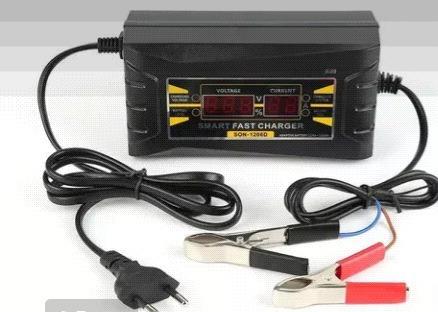 Carregador De Bateria Veicular 12v,6 Ah Com Displey Digital.