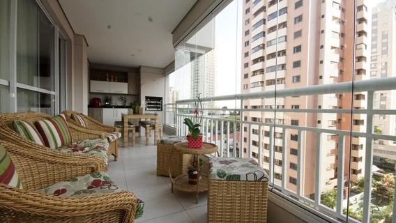 Apartamento Com 3 Dormitórios À Venda, 133 M² Por R$ 1.350.000,00 - Parque Da Mooca - São Paulo/sp - Ap4798