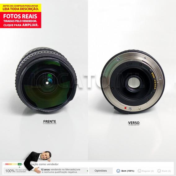 Lente Fisheye Tokina 10-17mm P/ Canon Crop Até 12x S/juros